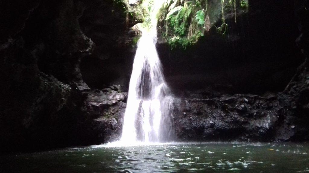 Asrinya Air Terjun Burung Walet di Dalam Gua