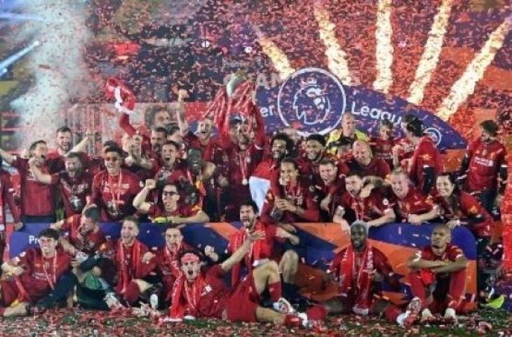 Rekor Gemilang Liverpool Usai Juarai Liga Primer